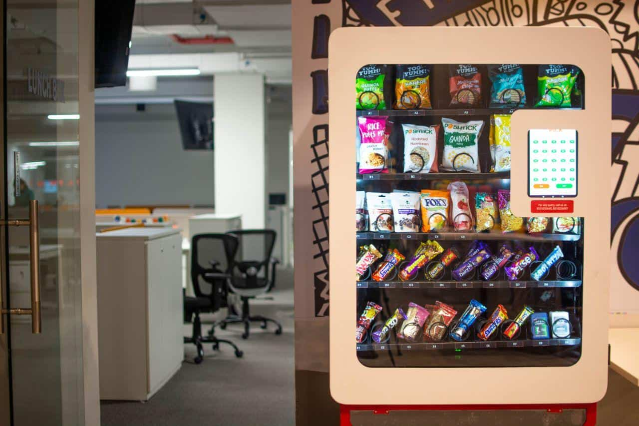 Wendor Mark Vending Machine
